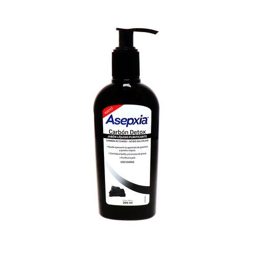 Jabon Liquido Asepxia Detox Purificante 200 Ml