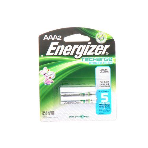 Batería Energizer Recargable Aaa 2 Un