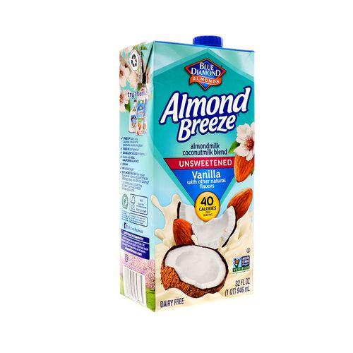 Leche De Almendra Coco Blue Diamond Sin Azúcar Vainilla 32Oz
