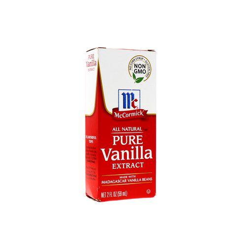 Extracto De Vainilla Mccormick Pure 59 Ml