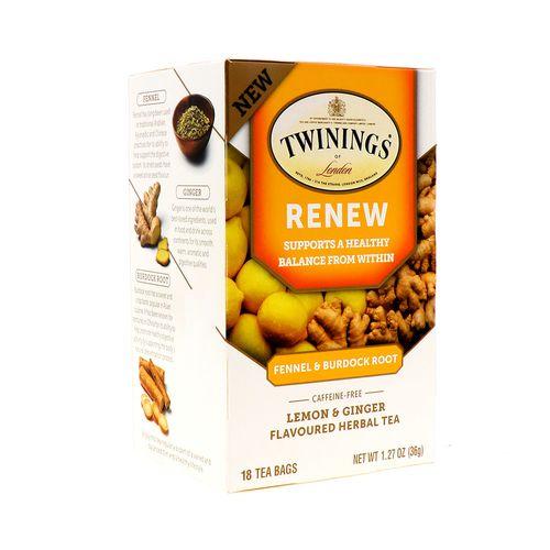 Te Twinings Jengibre/Limón 18 Un