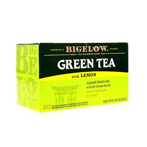 Te Verde Bigelow Limón 20 Un