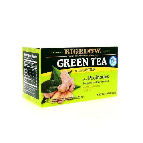 Te Verde Bigelow Probiotic Con Jengibre 18 Un