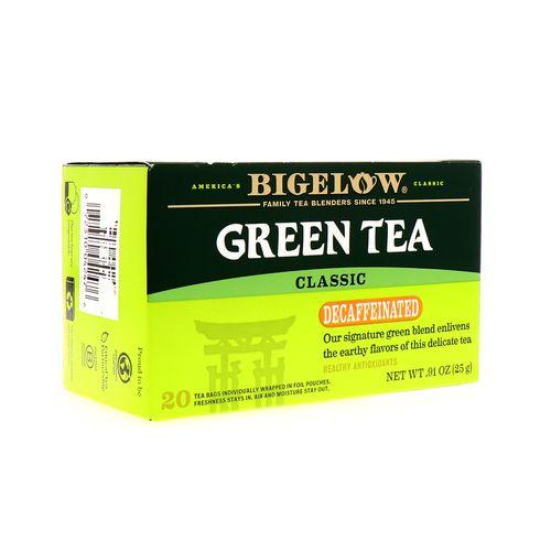 Te Verde Bigelow Descafeinado 0.91 Oz