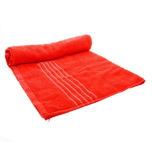 Toalla Para Playa Hilasal Color Rojo