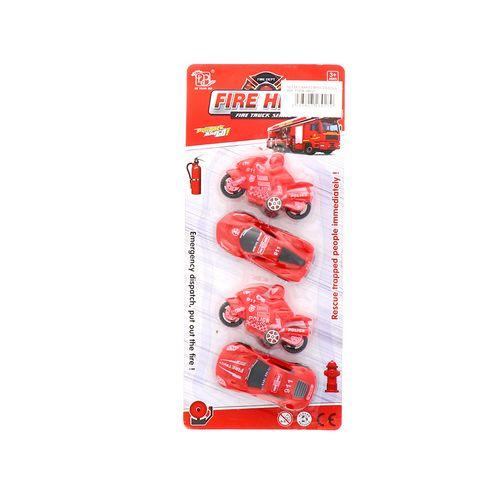 Juego De Carros Principal Colgante Rojo