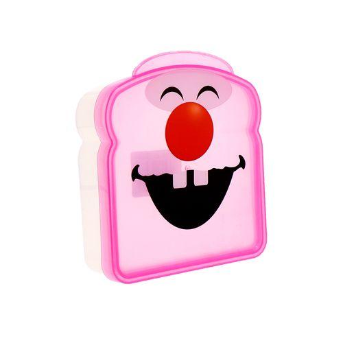 Sandwichera Plástico Dientitos