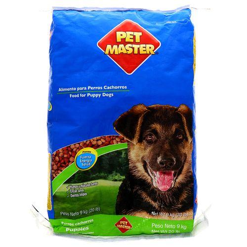 Alimento Para Perro Pet Master Cachorros 20 Lb