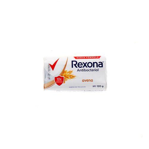 Jabón Tocador Rexona Antibacterial Avena 120 Gr