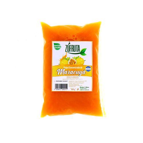 Pulpa Concentrada Zufruta De Maracuyá 454 Gr