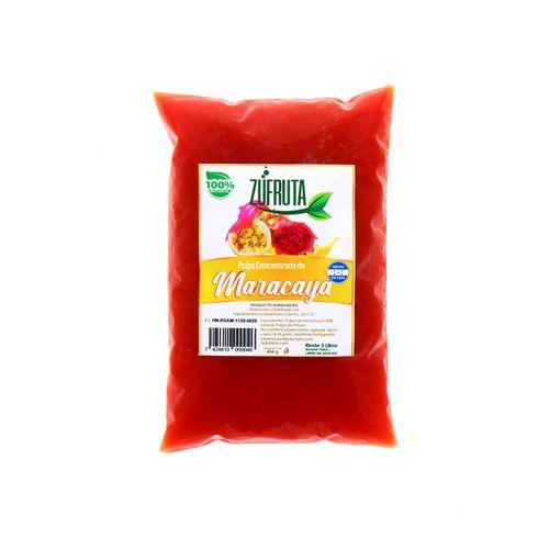 Pulpa Concentrado Zufruta De Maracayá 454 Gr