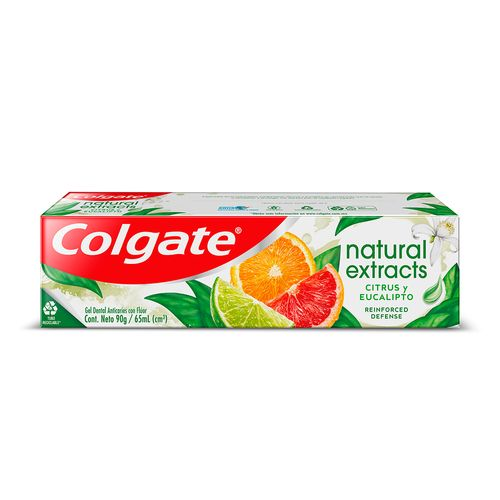 Gel Dental Colgate Natural Extracts Citrusy Eucalipto 65ml