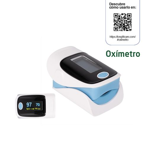 Oximetro Longfit Care Medidor