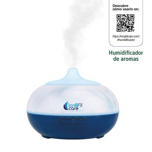 Ambientador Longfit Care Eléctrico Azul
