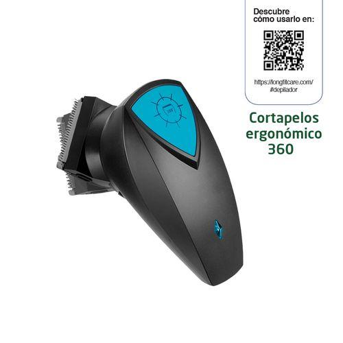 Cortapelo Ergonómico 360º USB Longfit Care