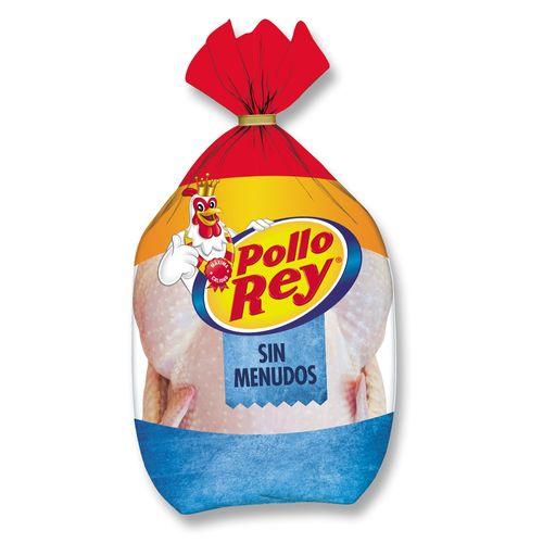 Pollo Entero Sin Menudo Congelado Pollo Rey x Unidad