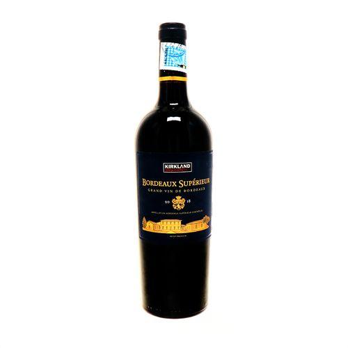 VinoTinto Kirkland Superior De Burdeos 2018 750 Ml
