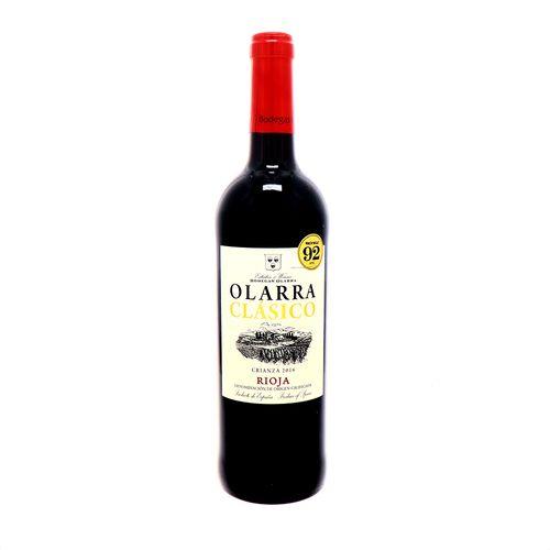 VinoTinto Olarra Clasico Rioja Crianza 2016 750 Ml