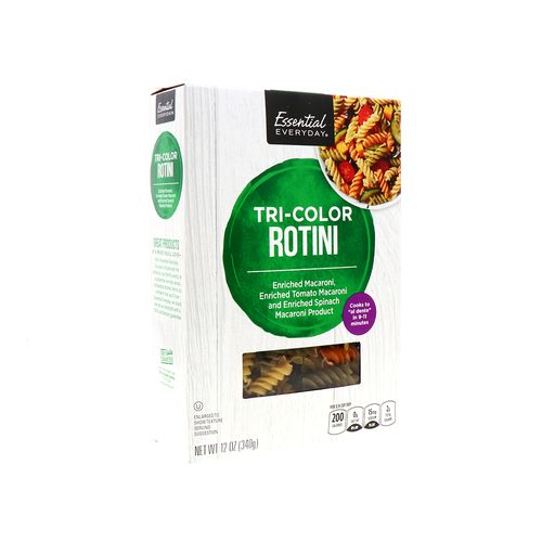 Rotini Essential Everyday Tres Colores 12 Oz