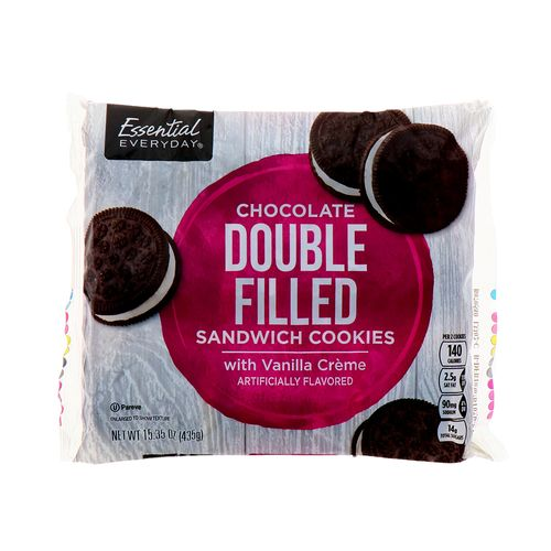 Galletas Essential Everyday De Chocolate Double Filled 434Gr