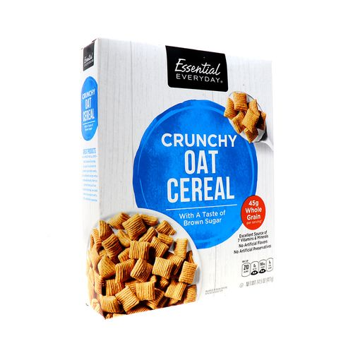 Cereal Essential Everyday Crunchy Oats 14.5 Oz