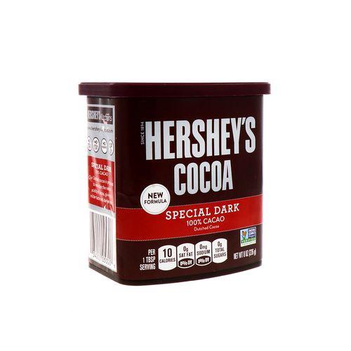Cocoa En Polvo Hersheys Special Dark 100%Cocoa 8 Oz