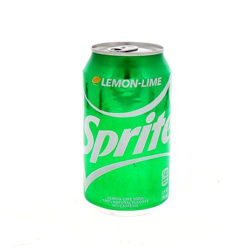 Refresco Sprite Limón Sin Cafeína 355 Ml