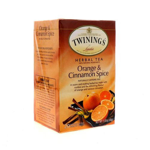 Te Twinings Of London Orange & Cinnamon Spice 20 Un