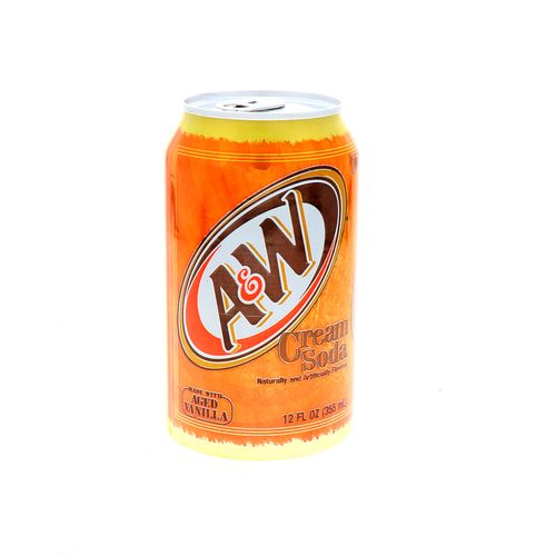 Refresco A&W Cream Soda Vainilla 355 Ml