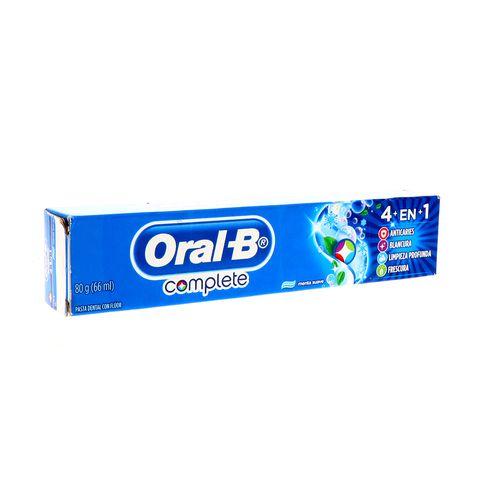 Pasta Dental Oral-B Complete 4En1 66 Ml