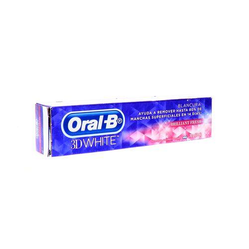 Pasta Dental Oral-B 3D White Brilliant Fresh 70 Gr