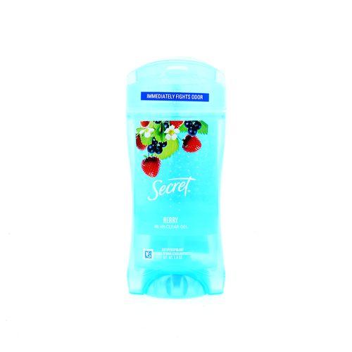 Desodorante Gel Secret Berry 2.6 Oz