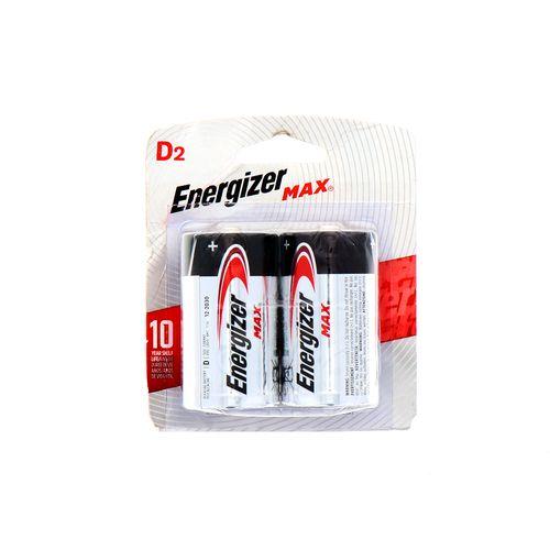 Batería Max Energizer D2 2 Un