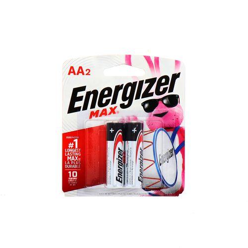 Batería Max Energizer Aa2 2 Un