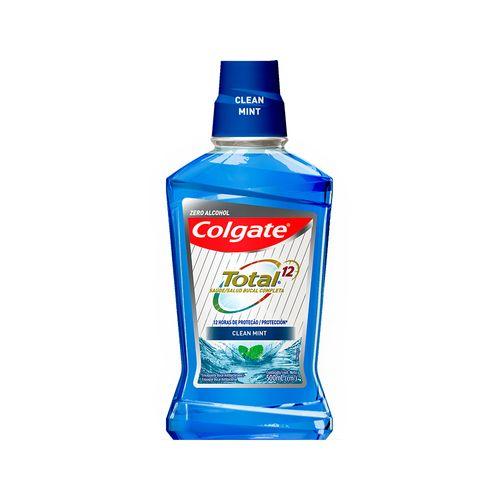 Enjuague Bucal Colgate Total Clean Mint 500 ml