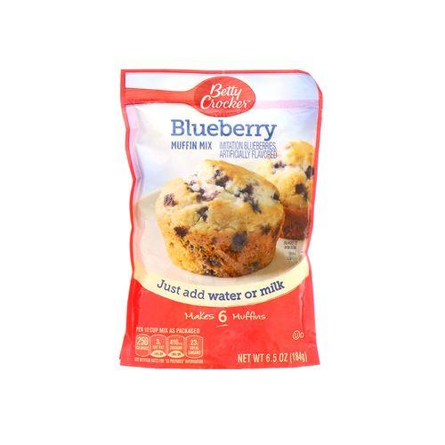 Muffin Mix Betty Crocker Blueberry 6.5 Oz