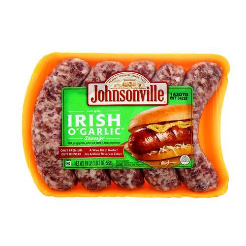 Salchicha Johnsonville Irish O Garlic 19 Oz