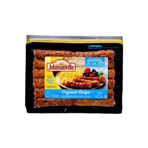 Salchicha Johnsonville Fully Cooked Breakfast 9.6 Oz