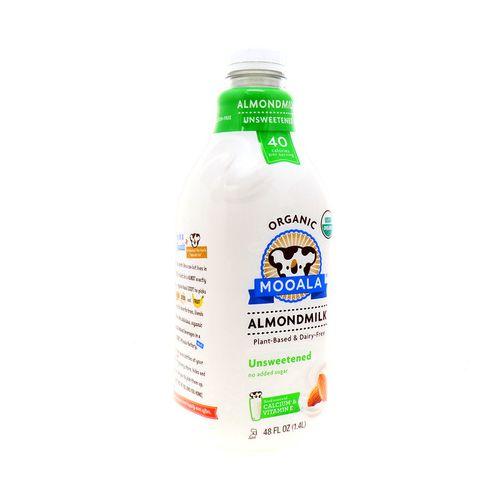 Leche De Almendra Moolala Organic Sin Azúcar 48 Oz