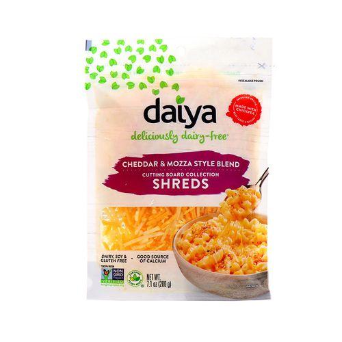 Queso Daiya Cheddar & Mozza Style Blend Rallado 7.1 Oz