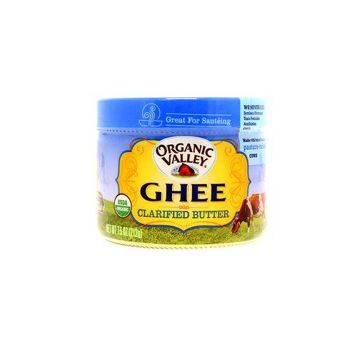 Manteca Clarificada Organic Valley Chee 7.5 Oz