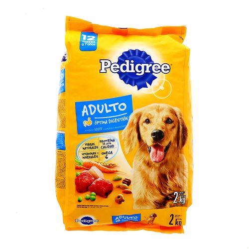 Comida Para Perro Pedigree Adulto Optima Gestión 2 Kg