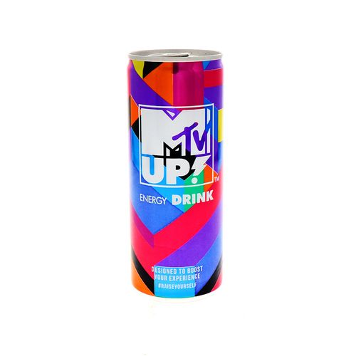 Bebida Energética Mtv Up Carbo Taurina 250 Ml