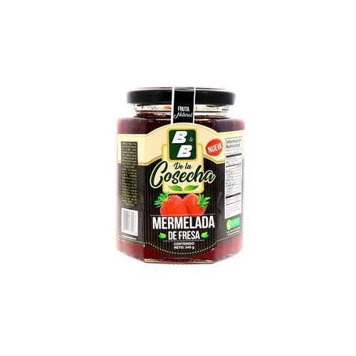 Mermelada B&B De La Cosecha De Fresa 340 Gr