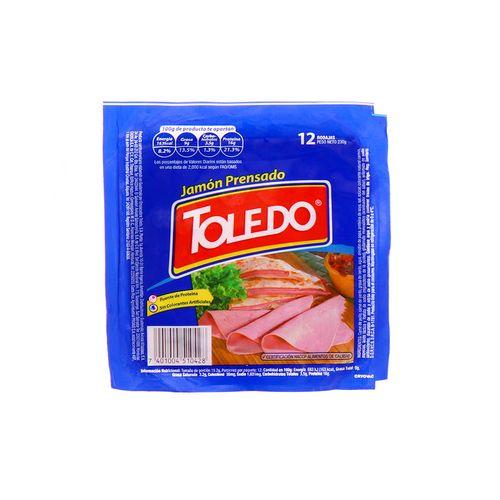 Jamón Prensado Toledo 12 Un/230Gr