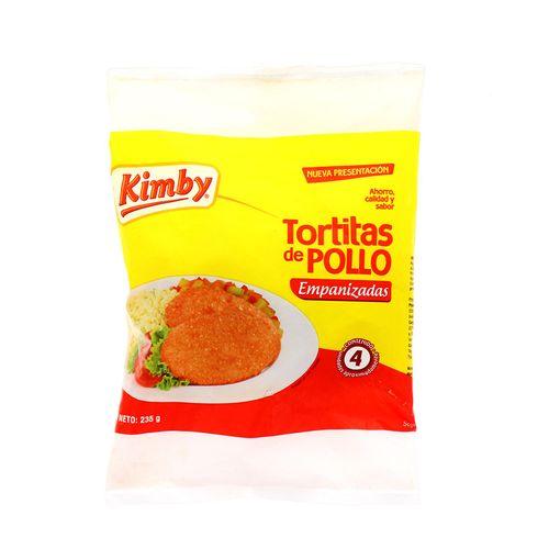 Tortitas De Pollo Kimby Empanizadas 235 Gr