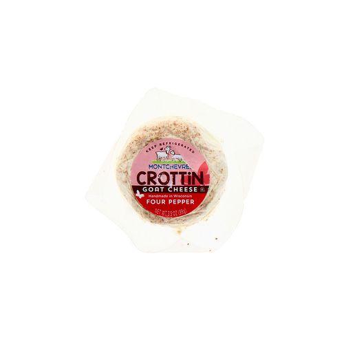 Queso De Cabra Montchevre Crottin Cuatro Pimientas 3.5 Oz