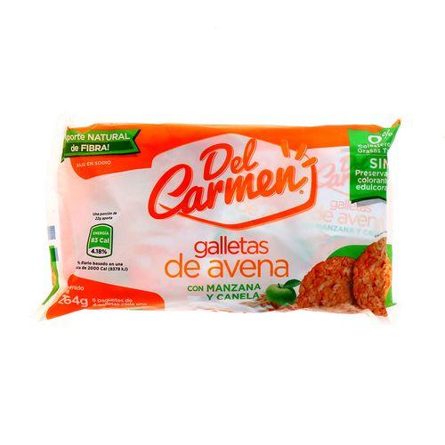 Galletas Del Carmen De Avena Con Manzana Y Canela 264 Gr