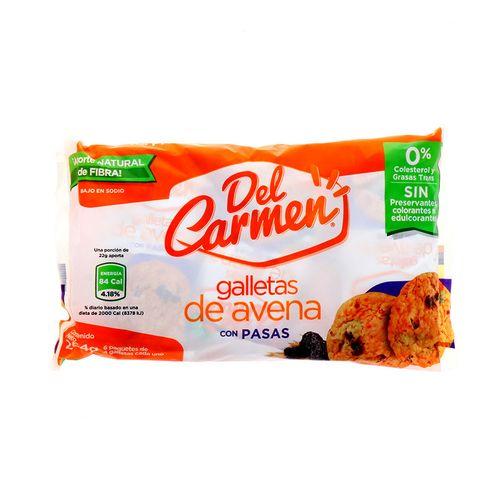 Galletas Del Carmen De Avena Con Pasas 264 Gr