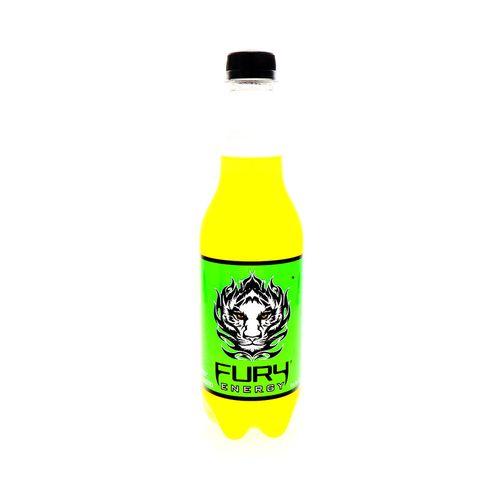 Bebida Energizante Fury Mean Green 500 Ml
